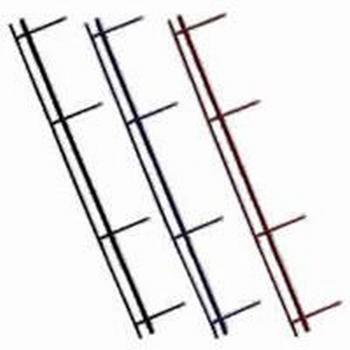 GBC VeloBind strips 4-pins A4 45mm Wit  25 stuks