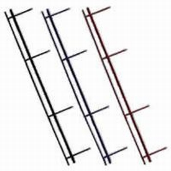 GBC VeloBind strips 4-pins A4 45mm Rood  25 stuks