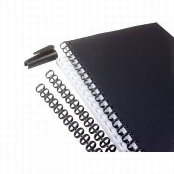 GBC Zipcomb Bindrug 16 mm zwart 50 stuks