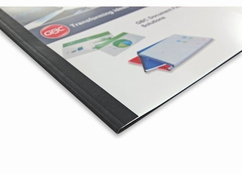 GBC Thermische omslag A4 Lederprint  3 mm  100 stuks