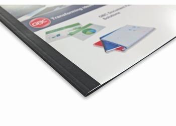 GBC Thermische omslag A4 Lederprint  6 mm  100 stuks