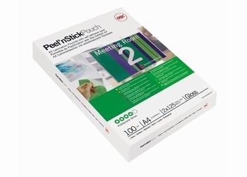 GBC Peel'nStick zelfklevende Lamineerhoezen 125mic 100 stuks