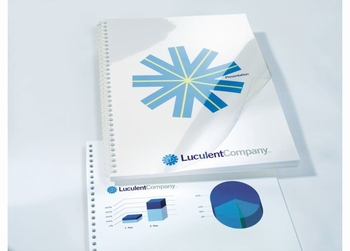 HiClear inbindomslagen PVC A4 200 micron  100 stuks