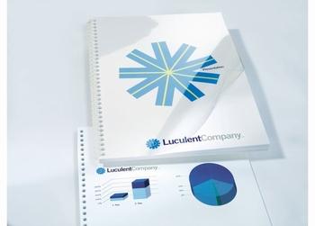 HiClear inbindomslagen PVC A3 150 micron  100 stuks