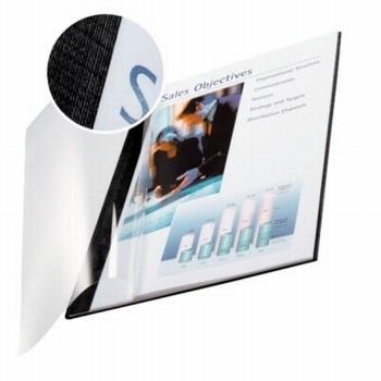 Leitz impressBIND soepele omslag 3.5 mm Zwart 10 stuks
