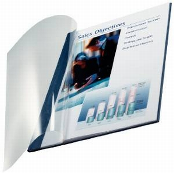 Leitz impressBIND soepele omslag 7 mm Blauw 10 stuks