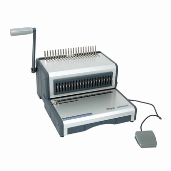 Albyco D-160 elektrische inbindmachine voor plastic bindrug