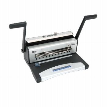 Albyco S-303 inbindmachine voor metalen draadkammmen (3:1)