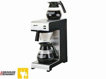 Koffiezetapparaat Bravilor Mondo met 2 glazen kannen