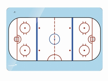ACCENTS Linear whiteboard - IJshockey