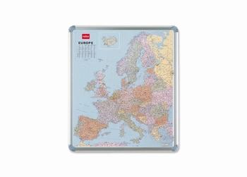 Nobo magnetische wandkaart Europa