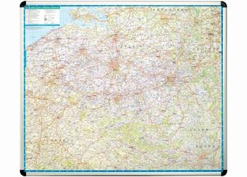 Nobo magnetische wandkaart België