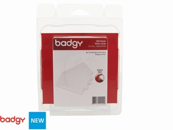 Kaarten wit 0.76 mm voor de kaartprinter Badgy 100 en 200