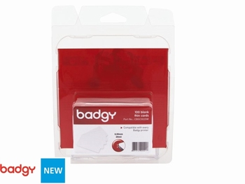 Kaarten wit 0.50 mm voor de kaartprinter Badgy 200