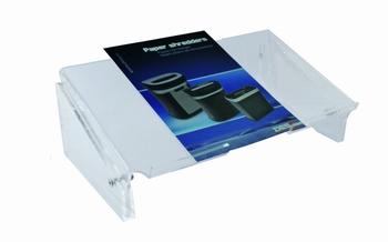 DESQ Acryl documenthouder verstelbaar