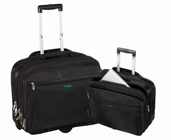 Chicago Notebook trolley tas 17