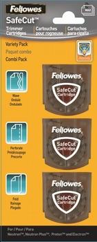 Fellowes SafeCut™ vervangende snijmessen - 3 pack