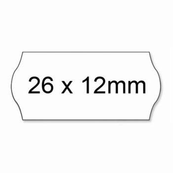 Prijstang etiketten 26x12mm voor model UNO AC5600 permanent