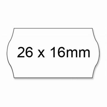 Prijstang NON-PERM etiketten 26x16mm voor model UNO AC5700