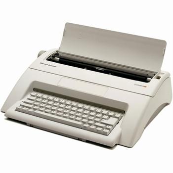 Schrijfmachine Olympia Carrera De Luxe Azerty ( FR )