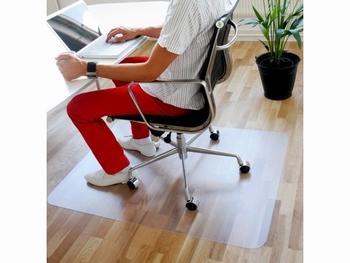 Stoelmat Q-Connect PVC 120x150cm voor harde vloeren