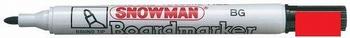 Snowman BG-12 Whiteboard Marker 1-3 mm Rood