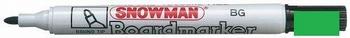 Snowman BG-12 Whiteboard Marker 1-3 mm Groen