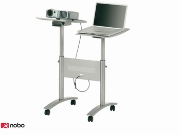 Multimedia Trolley voor Notebook en Projector