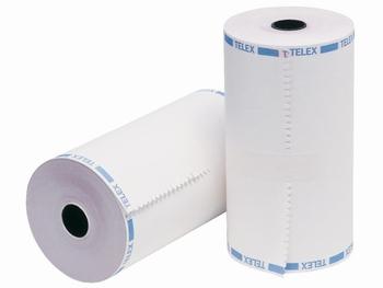 Telexrol enkelvoud ( 1-voud ) 209mm x 135m rond 114mm ( 6 )