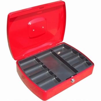 Geldkist TS0110R rood 330x235x90mm