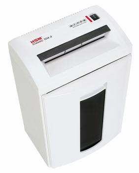 Papiervernietiger HSM Classic 104.3 3,9x30mm