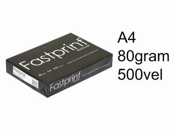 Fastprint Regular A4 kopieerpapier 80 grams wit 500 vel
