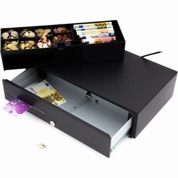 ACROPAQ Compacte kassalade 500s zwart