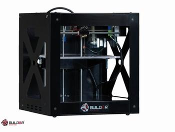 3D printer Builder dual inclusief display Zwart