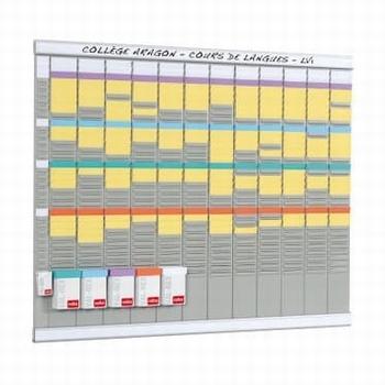 Nobo Planbord met T-kaarten Jaarplanner 13 kolom 32 sleuven