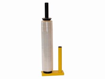 Stretchfoliehouder / afroller pallet wikkelaar metaal