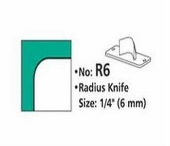Rondhoekmes R6 van 6.0 mm voor rondhoeker