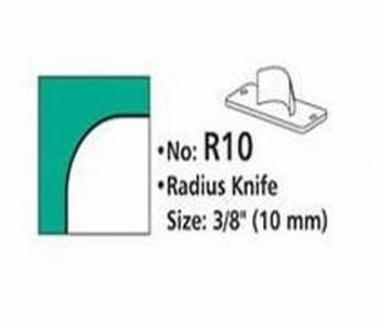 Rondhoekmes R10 van 10.0 mm voor rondhoeker