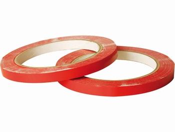 Zakkensluiter tape 9mm x 66m Rood
