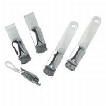Metalen clips voor badges  25 stuks