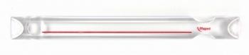 Leesliniaal 250mm voorzien van rode leeslijn