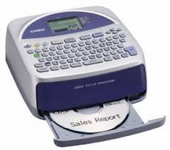 Casio Disc Title Printer CW-75