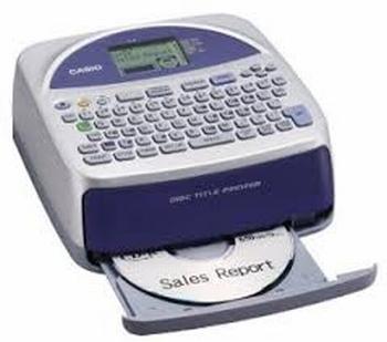 Casio Disc Title Printer CW-75