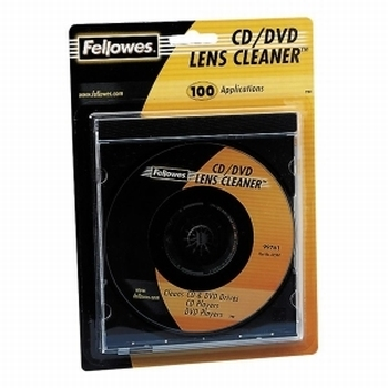 Fellowes reinigingstape: CD/DVD lensreiniger - Multi
