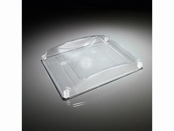 Geldtableau Standaard kunststof glashelder 185x194x26mm