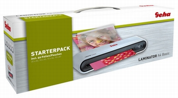 Geha Basic Lamineermachine A4 Starterpack