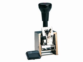 Reiner numeroteur B2 13042 6-cijfers 4.5 mm metaal