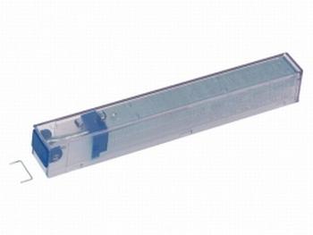 Leitz nieten cassette K6 Blauw 26/6 verzinkt 5x210 stuks
