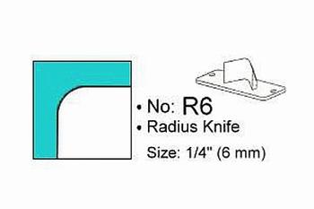 Rondhoekmes Regur Trimmit R-6 van 6.0 mm