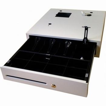ACROPAQ 06005 - Metalen kassalade voor CR812 CM81x CM84x Wit